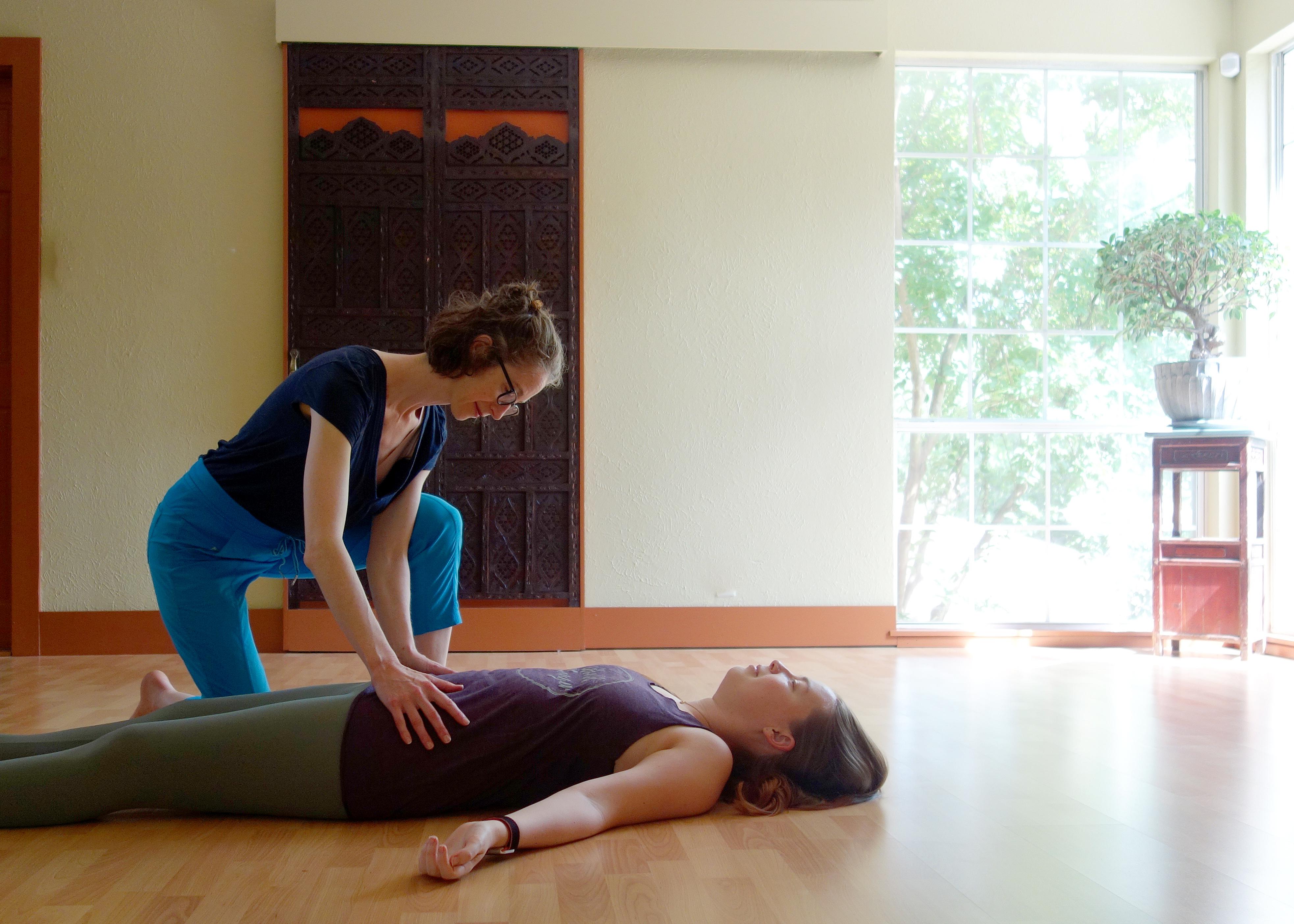 somatic yoga dallas Jessica O'Keefe Jessie King Private Session